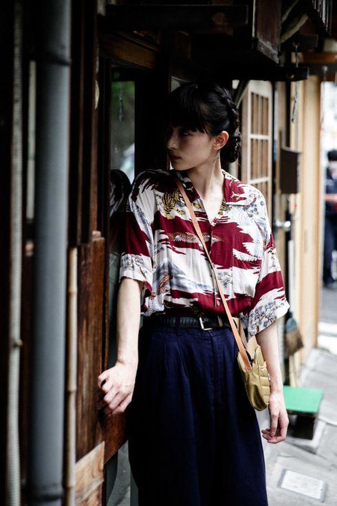 ストリートスナップ渋谷 - Lee Momokaさん - CONVERSE, URBAN RESEARCH, used, アーバンリサーチ, コンバース, 古着