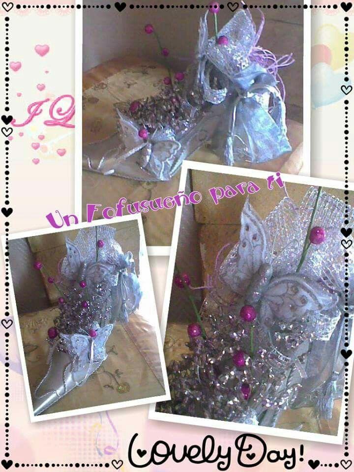 Zapato alfiletero de novia