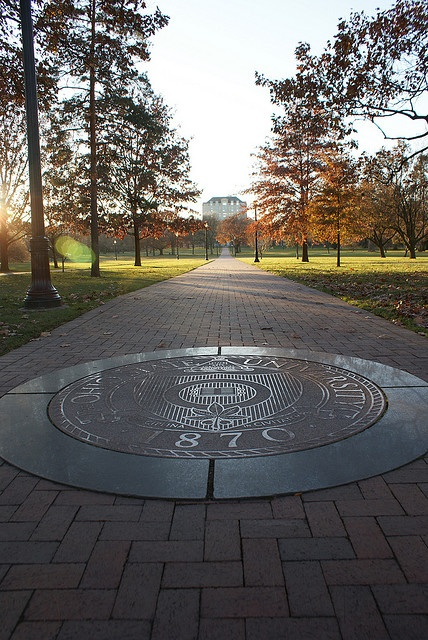 The Ohio State University - North Oval. I've stepped foot on this almost SHHH 15 yrs ago and I still remember it! Holy smokes!