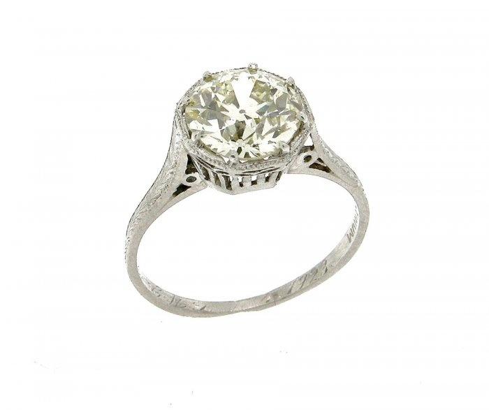 Antique Platinum Rings