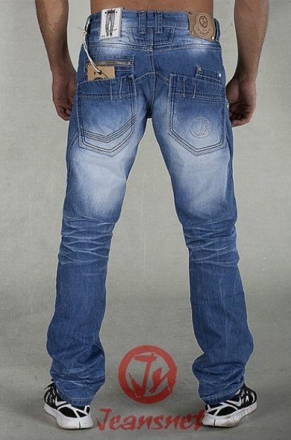 PÁNSKÉ OBLEČENÍ | JEANSNET džíny kalhoty pánské 8045 | modastyl24.cz