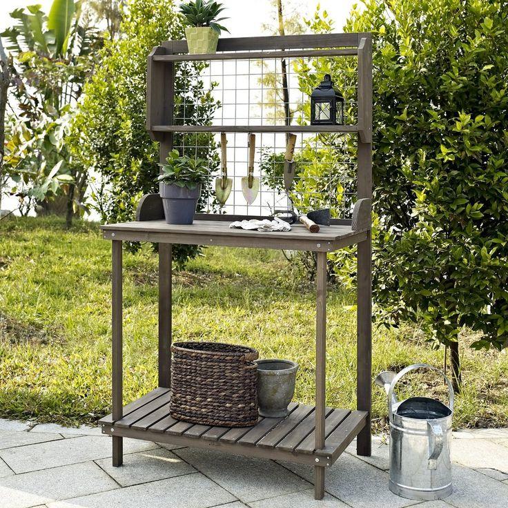 25 best ideas about outdoor shelves on pinterest slat. Black Bedroom Furniture Sets. Home Design Ideas