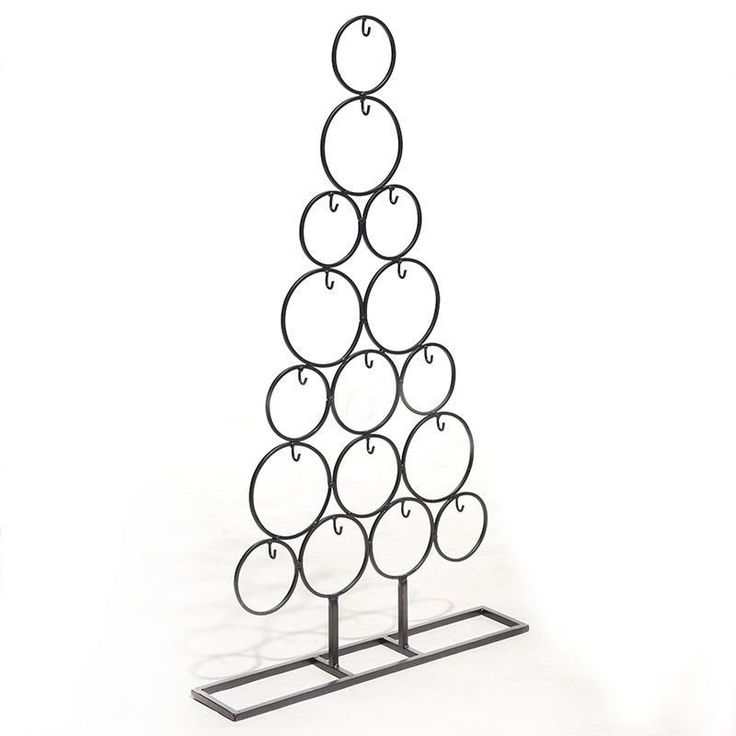 Metal #Christmas tree in black color! www.inart.com