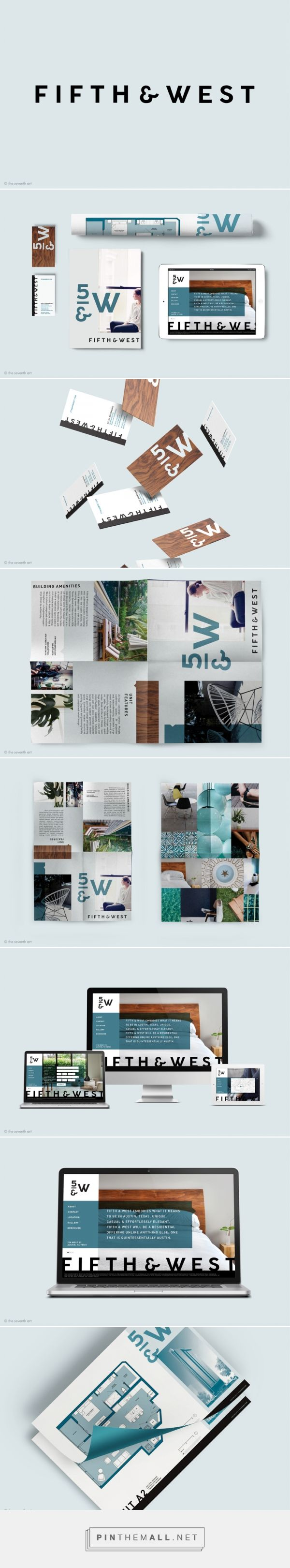 Fifth & West Residential Building Brand by The Seventh Art LLC | Fivestar Branding – Design and Branding Agency & Inspiration Gallery