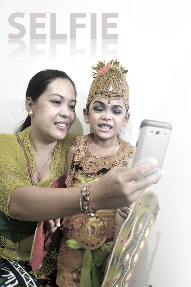 Selfie Widia & Mom