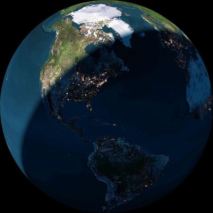 Земля со спутника в картинках