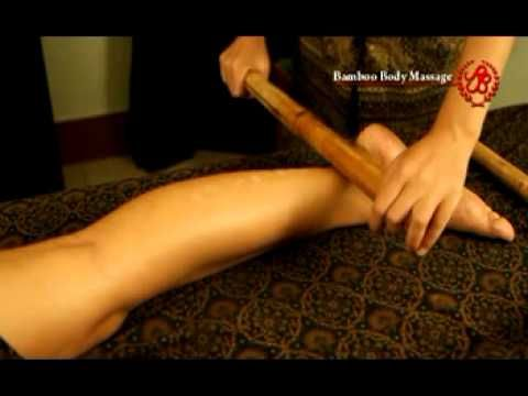 Bamboo Body Massage - YouTube