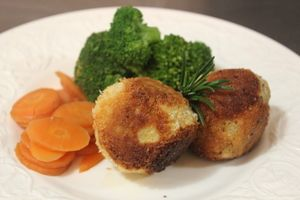 Croquette's made with Lamb