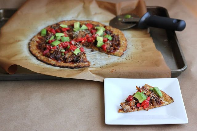 The Lucky Penny: The BEST Dairy Free Cauliflower Pizza Crust!