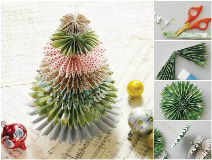 paper christmas tree ideas
