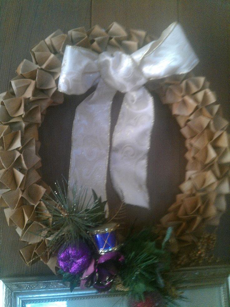 Lauhala Wreath