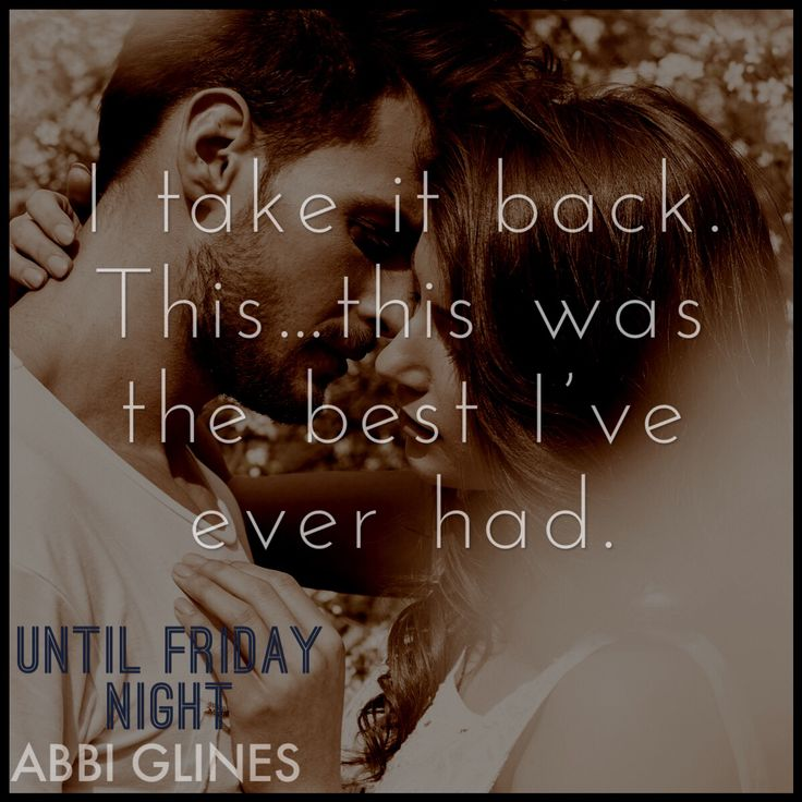 Until Friday Night by Abbi Glines: