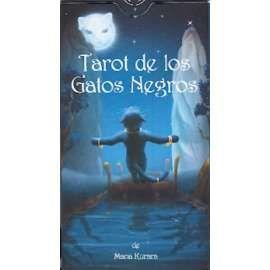 TAROT DE LOS GATOS NEGROS-LO SCARABEO