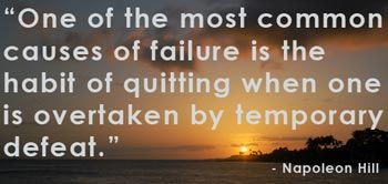 Success and Failure Quote