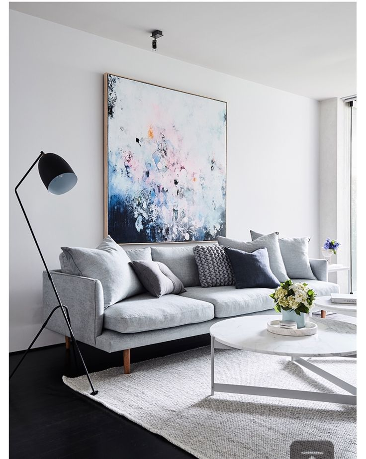 Steal The Style With This Inexpensive Copy Of Mantis Floor Lamp Spence And Lyda Living RoomMonochrome