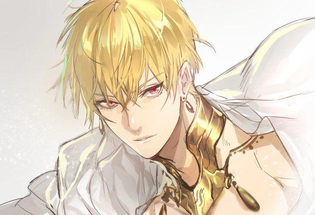 Pin By Paulina Nodzynska On Fate Blonde Anime Boy Anime Boy Hair Blonde Hair Anime Boy