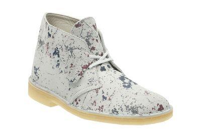 Desert Boot Clarks Originals Herrenstiefel Buntes Veloursleder 120€