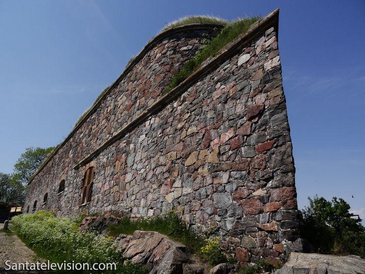 Suomenlinna fortress in Helsinki in Finland – UNESCO World heritage site