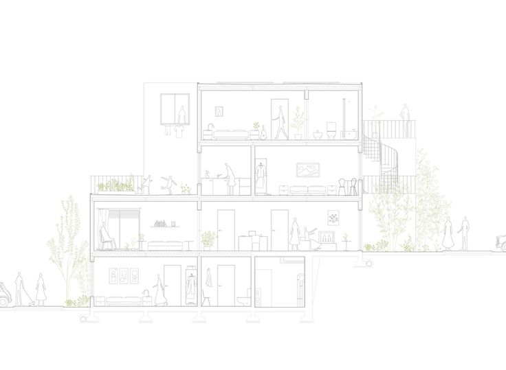 Gallery of Alvenaria Social Housing Competition Entry / fala atelier - 19