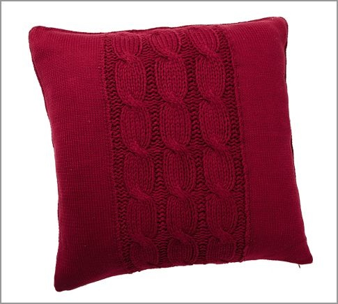 18 best pillows images on pinterest knit pillow sweater pillow and pillows. Black Bedroom Furniture Sets. Home Design Ideas