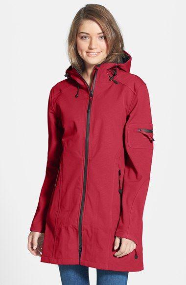 Ilse Jacobsen Hornbaek 'Rain 7B' Hooded Water Resistant Coat available at #Nordstrom