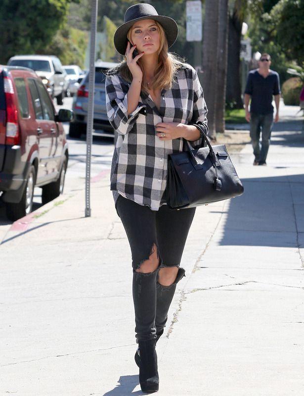 Ashley Benson. I need these jeans