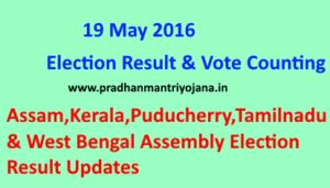 19 May 2016, Assembly Election Results ! Assembly Election Results for 5 states namely Assam, Kerala, Puducherry, Tamilnadu and West Bengal and going to be declared on May 19th 2016. Find out how to Check results and get live vote counting updates ! #assemblyelection #electionresults