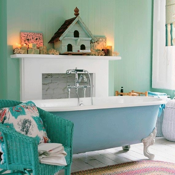 Home Bluish Elegance Stunning Small Bathroom Ideas Design In Spa Relaxed Feeling