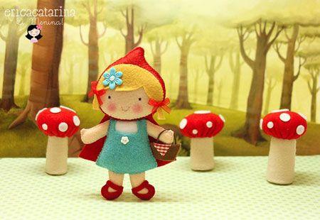Сказочные игрушки из фетра