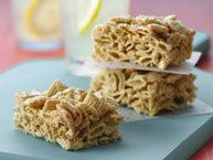 Salted Caramel Stuffed Chex® Cereal Treats recipe from Betty Crocker