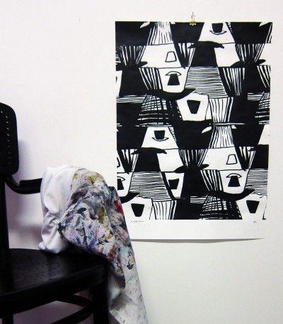 'Kafferast' art print by Butler/Lindgård