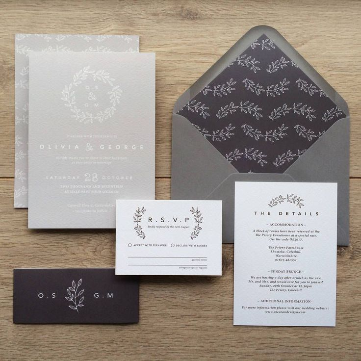 wedding invitation wording with no reception%0A Are you interested in our rustic wedding invitations  With our vintage wedding  invitations with laurel