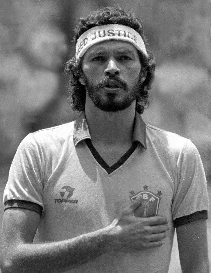 Brazilian Soccer Legend Socrates
