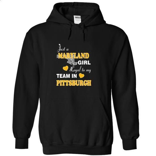 Maryland - Loyal to My Team in Pittsburgh - #polo #graphic tee. ORDER NOW => https://www.sunfrog.com/No-Category/Maryland--Loyal-to-My-Team-in-Pittsburgh-Black-13176860-Hoodie.html?60505