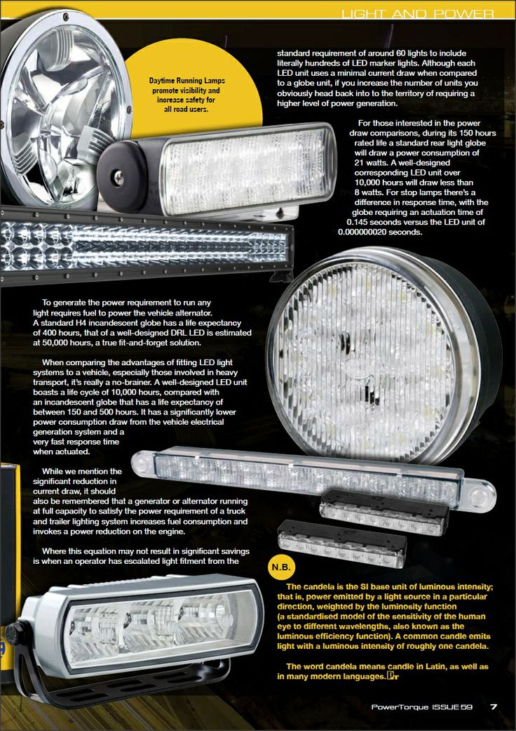LIGHT AND POWER - continued  #hella, #led, #ledlights