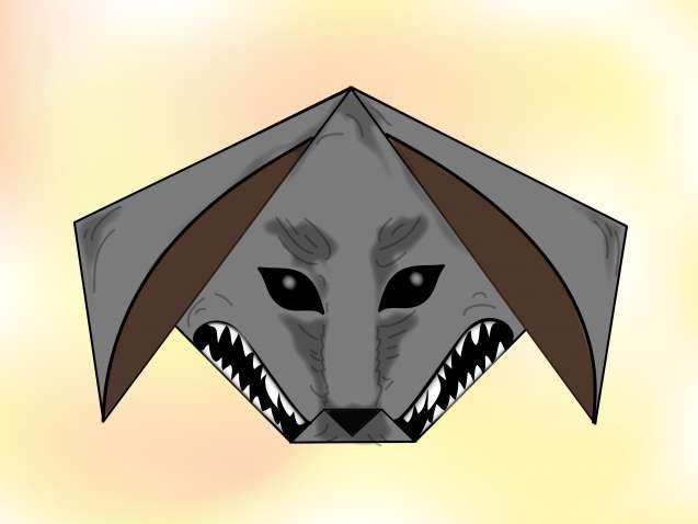 Einen Origami Wolf machen (mit Bildern) – wikiHow | 478x637