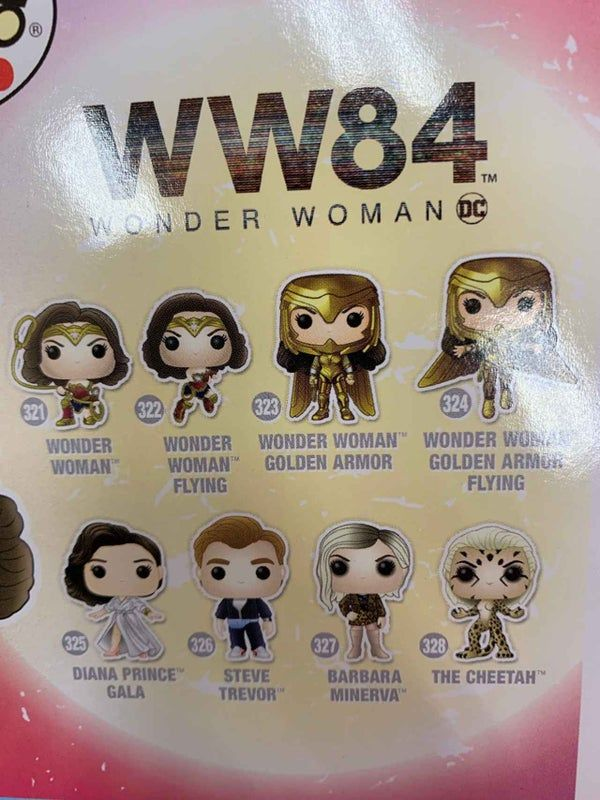 Wonder Woman 1984 Cheetah S Final Form Revealed In New Funko Pop In 2020 Funko Pop Cheetah Wonder Woman Wonder Woman