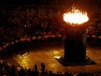 The Olympic Cauldron in all its glory