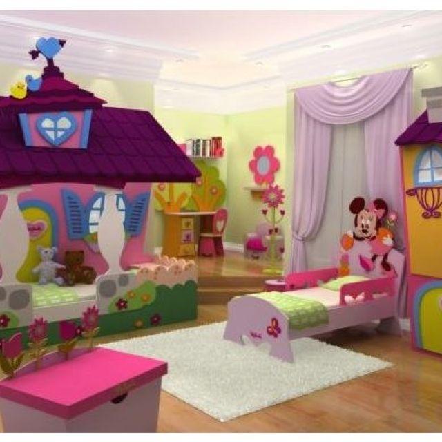 Decoracion de cuartos infantiles para nias 5 for Decoracion de recamaras infantiles modernas