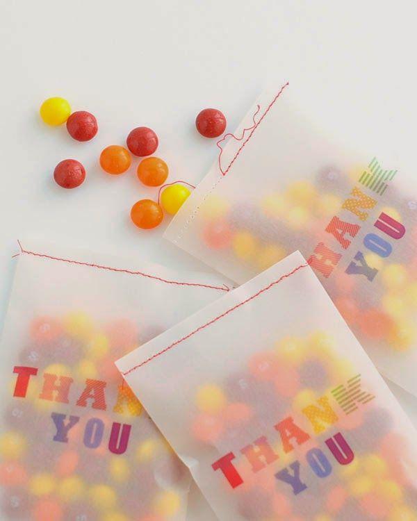 DIY: Adorable Printable Thank You Bag!   Art And Chic