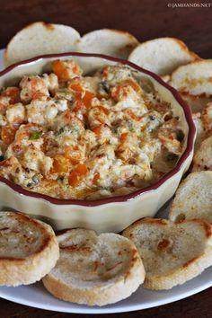 Cajun Shrimp Dip...perfect for our Cajun tailgate v LSU #gococks