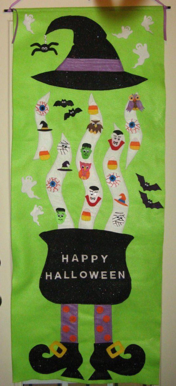 "cute halloween ""advent"" idea"