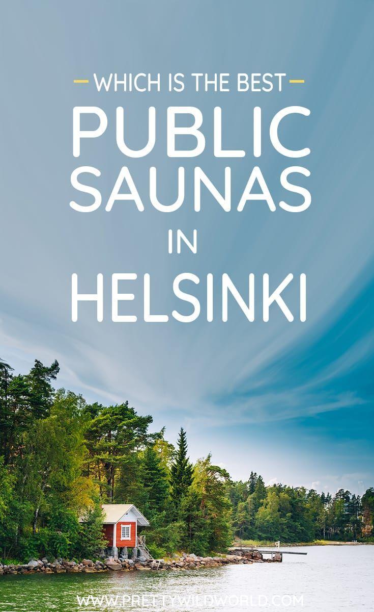 #HELSINKI #FINLAND #SAUNA #TRAVEL | Best public sauna in Helsink | Traditional sauna | steam sauna | wood sauna | electric sauna | Finnish culture | Things to do in Helsinki | Ice swimming | Things to do in Finland | Unique things to do in Helsinki | Only locals know via @prettywildworld