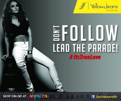 Women like men who Leads from the front.. #itstruelove #yellowjeans