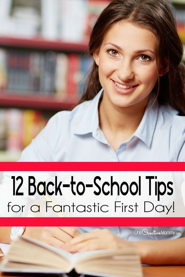 12 Back to School Tips for a Fantastic First Day+#back_to_school_bulletin_boards… – Back To School