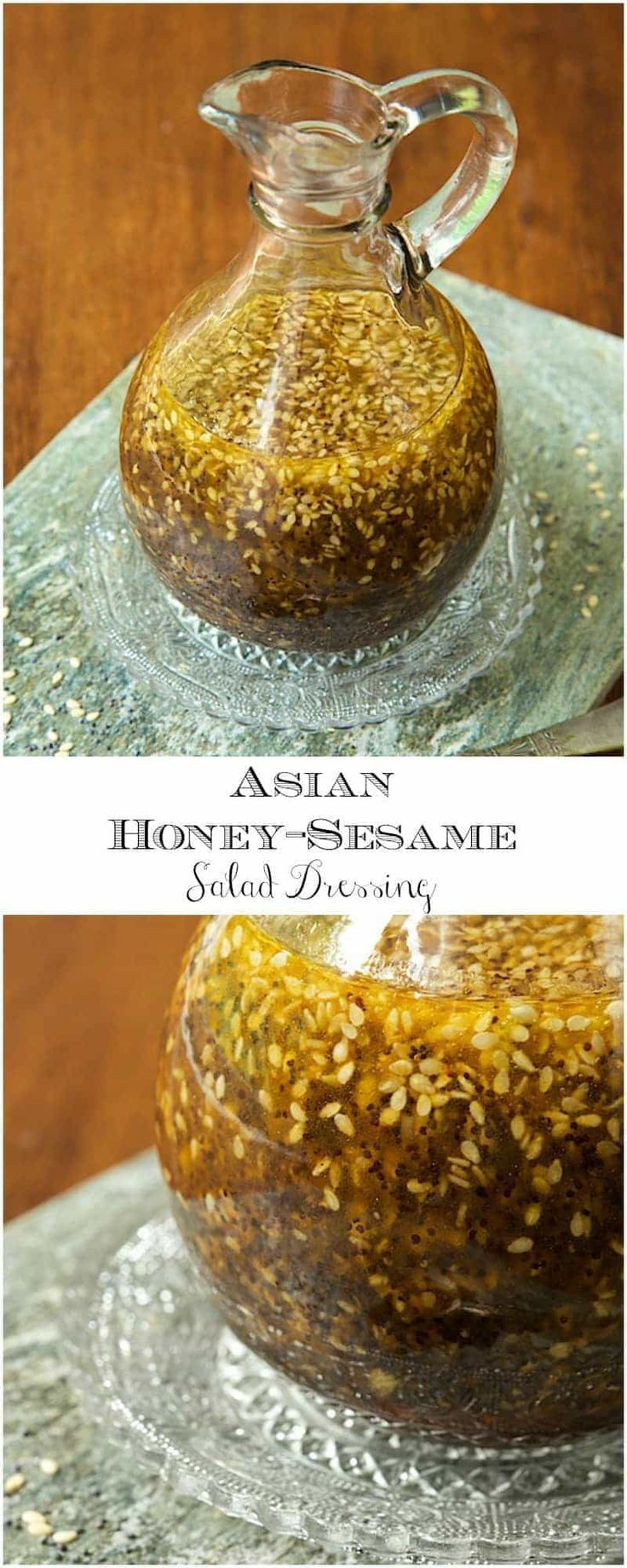 Incredibly delicious, this dressing goes so well with a myriad of salad ingredients. It's not only a salad dressing but this also makes an amazing drizzling sauce for grilled chicken, shrimp, pork or beef.