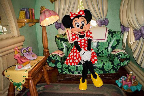 Minnie Mouse - Mickey's Toontown, Disneyland Resort