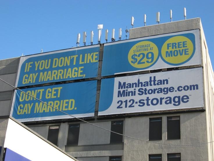 Love These Manhattan Mini Storage Ads