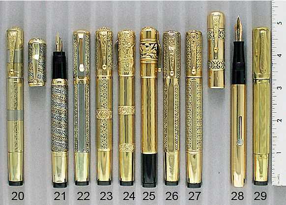 If this tray of vintage Waterman fountain pens doesn't make