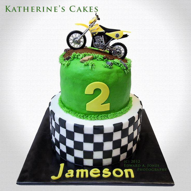 Motocross Birthday Cake Ideas